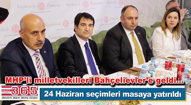 MHP Bahçelievler Teşkilatı istişare toplantısı düzenledi