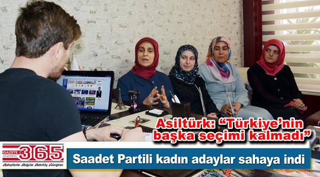 Saadet Partisi İstanbul kadın milletvekili adaylarından Gazete 365'e ziyaret…