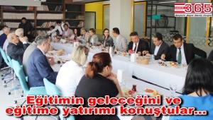 Vatan Okulları, okul müdürleri ile kahvaltıda buluştu