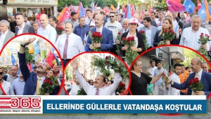 AK Parti Bahçelievler'in 'Sevgi Yürüyüşü' yoğun ilgi gördü