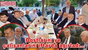 Ali Bekgöz'ün geleneksel iftar yemeğine geniş katılım yaşandı