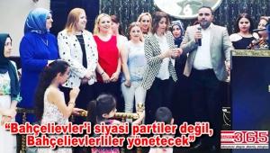 Belediye Başkan Adayı Galip Karayiğit'e 'Cumhuriyet Mahallesi Kadınları'ndan destek…
