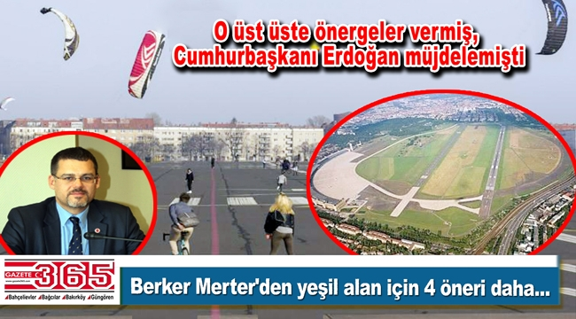Berke Merter'den İBB meclisinde 'Atatürk Bahçesi' çıkışı...