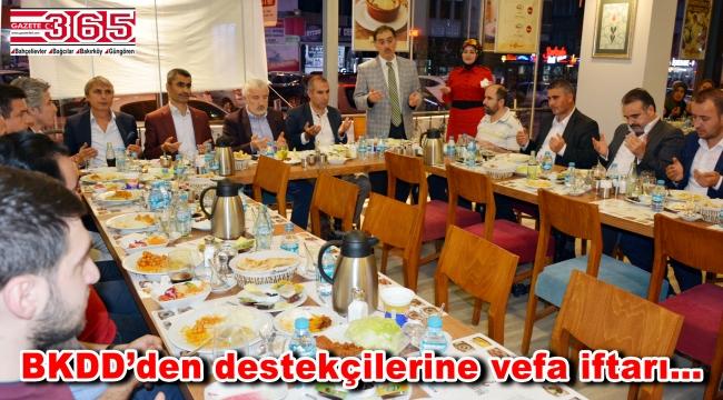 BKDD bu kez destekçileriyle iftar sofrasında buluştu