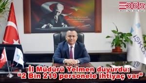 İstanbul'da İŞKUR'a 602 personel alınacak