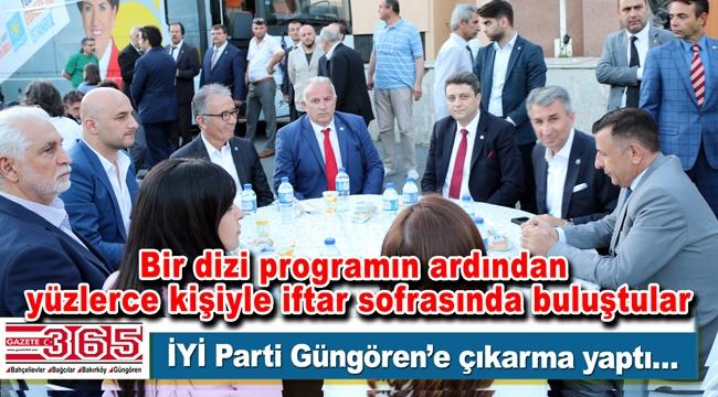 İYİ Parti Güngören İlçe Teşkilatı'nın iftarına yoğun katılım yaşandı