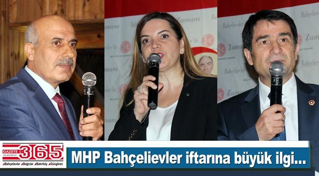 MHP Bahçelievler İlçe Teşkilatı'nın iftarına büyük ilgi yaşandı