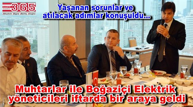 TÜMFED yönetimi BEDAŞ Genel Müdürü ile iftarda buluştu