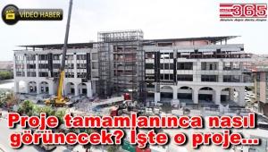 Bağcılar Belediyesi'nin yeni hizmet binası yılsonunda açılıyor