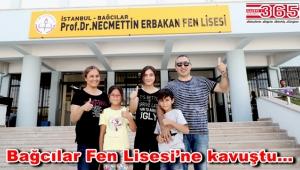 Bağcılar'da Prof. Dr. Necmettin Erbakan Fen Lisesi açıldı