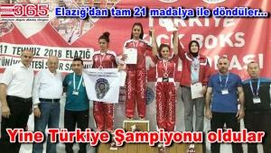 Bahçelievlerli Kıck Boks sporcuları yine Türkiye Şampiyonu oldu