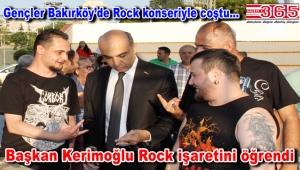 Bakırköy'de Rock fırtınası esti