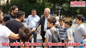 Başkan Osman Develioğlu Kuleli Ortaokulu'nu ziyaret etti