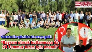 İGD 24 Temmuz Gazeteciler ve Basın Bayramı'nı piknikte kutladı