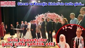 Mahmut Gürcan kızını evlendirdi