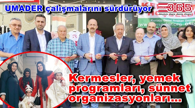 UMADER Genel Başkanı Gürkan hayırseverlere çağrı yaptı