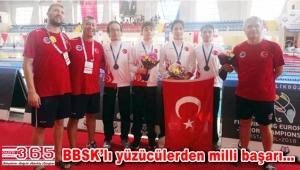 BBSK sporcuları Avrupa Gençler Şampiyonası'na damga vurdu