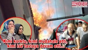 Güngören'de yangın çıktı: Mahalleli sokağa döküldü