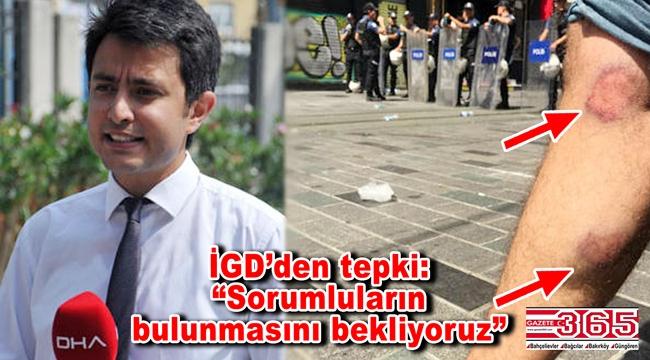 İGD'den DHA muhabiri Özgür Deniz Kaya'nın yaralanmasına tepki…