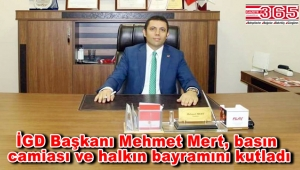İstanbul Gazeteciler Derneği Kurban Bayramı mesajı yayınladı