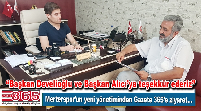 """Merterspor yönetimi: """"Yeni şampiyonluklar için kolları sıvadık"""""""