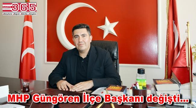 MHP Güngören İlçe Başkanı Muhammet Alparslan Aldır oldu