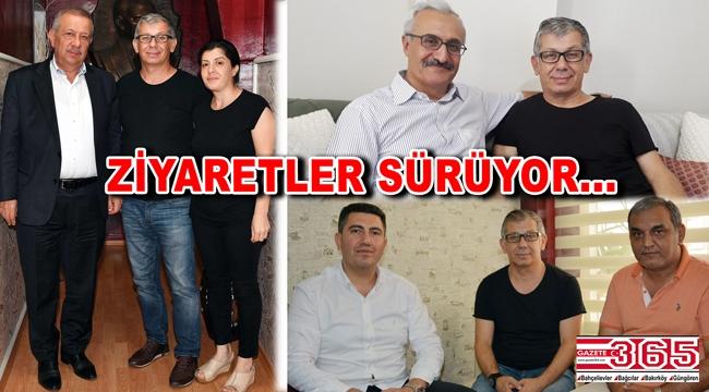 Usta Gazeteci Bayram Kırtaş'a geçmiş olsun ziyaretleri sürüyor