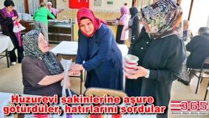 AK Parti Güngören Kadın Kolu Teşkilatı huzurevindeki yaşlıları unutmadı