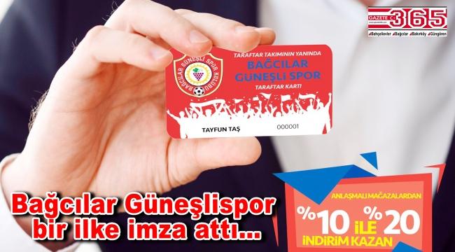 Bağcılar Güneşlispor 'Taraftar Kartı' projesini hayata geçirdi