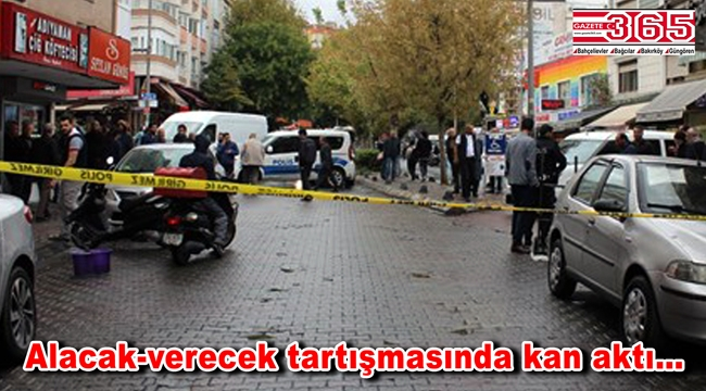 Bahçelievler'de silahlı saldırı: 3 yaralı