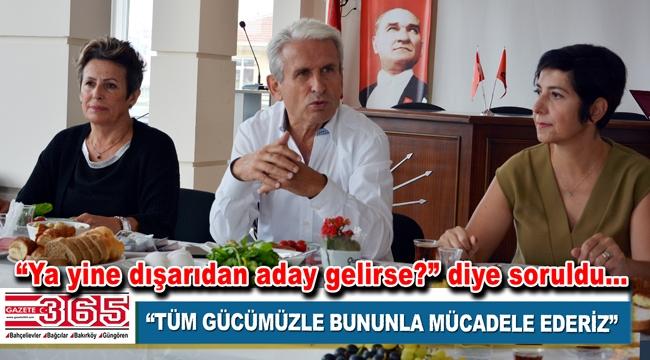 CHP Bakırköy ilçe yönetimi yerel seçim öncesi gazetecileri ağırladı