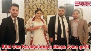 Gazeteci Bilal Can Karabulutoğlu evlendi
