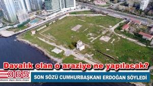 Ataköy'deki Baruthane arazisinin kaderi belli oldu