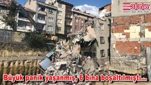Bağcılar'daki o binanın yıkımı sürüyor