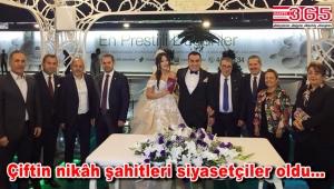 Başkan Sami Kaya evlendi
