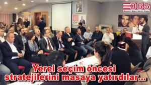 CHP Bahçelievler İlçe Örgütü yerel seçimler için toplandı