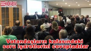 CHP Bahçelievler Örgütü 'İmar Barışı' konulu panel düzenledi