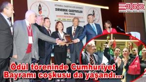 İGD'nin 'Zirvedeki Gazeteciler' töreninde ödüller sahiplerini buldu