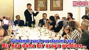 İl Başkan Yardımcısı Hakan Bahadır ve dostları yemekte buluştu