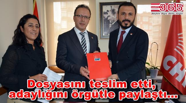 M. Ali Özkan Bahçelievler Belediye Başkanlığı için adaylığını açıkladı