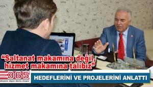 AK Parti Bahçelievler Belediye Başkan A. Adayı İsmail Karabiber Gazete 365'i ziyaret etti