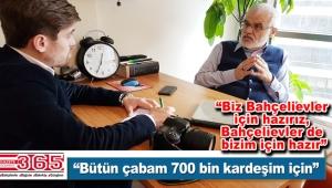 AK Parti Bahçelievler Belediye Başkan A. Adayı Yusuf Yıldırım iddialı konuştu