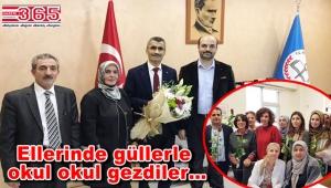 AK Parti Bahçelievler İlçe Teşkilatı Öğretmenler Günü'nü kutladı