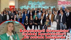 BAHGİDER Karadenizliler Platformu üyelerini kahvaltıda ağırladı