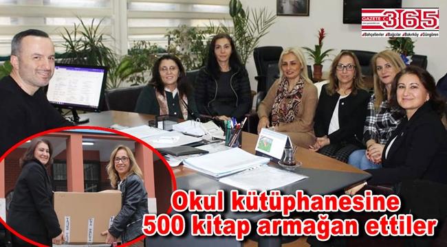 CHP'li kadınlardan öğrencilere anlamlı hediye...