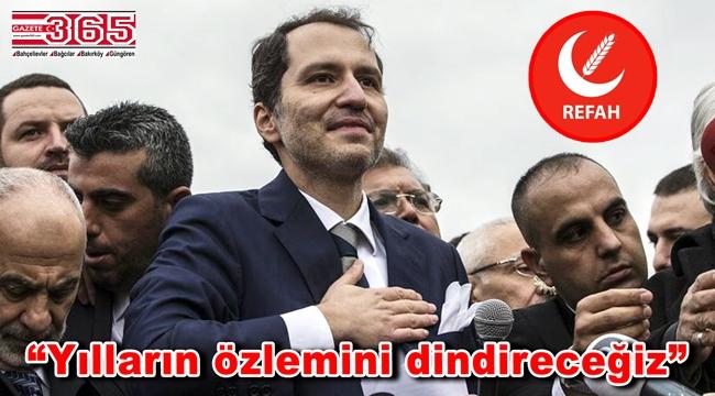 Fatih Erbakan Cuma namazı sonrası konuştu: 'Yeniden Refah Partisi'ni kurduk