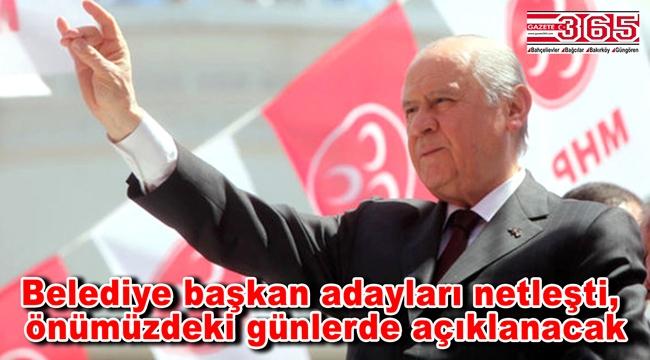 MHP'de İstanbul adayları netleşmeye başladı: İşte o 10 ilçe...