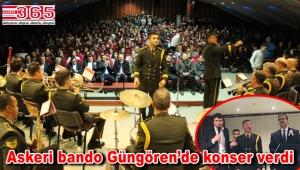 1. Ordu Bölge Bando Komutanlığı Ergün Öner Mehmet Öner Anadolu Lisesi'nde…