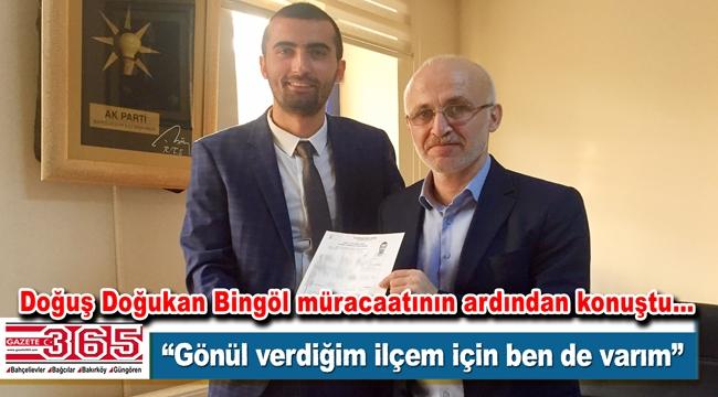 AK Parti Bahçelievler Belediye Meclis Üyesi A.Adayı Doğuş Doğukan Bingöl açıklama yaptı