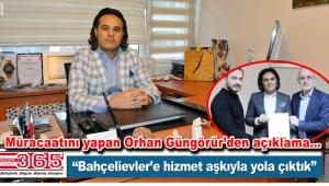 AK Parti Bahçelievler Belediye Meclis Üyesi A. Adayı Orhan Güngörür açıklama yaptı